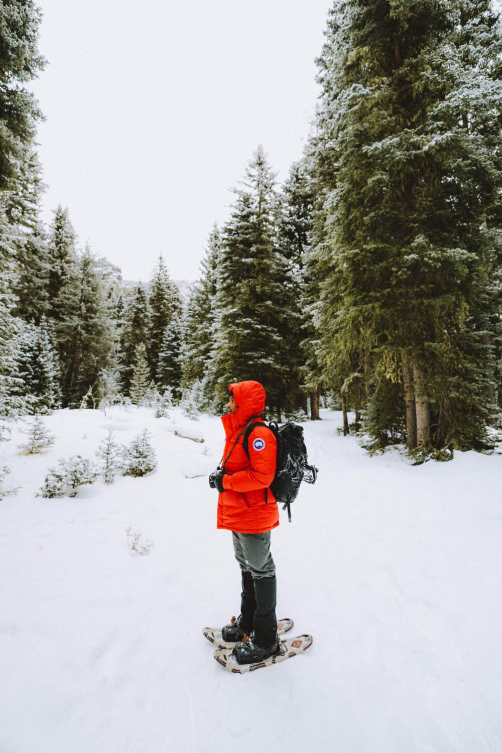 Packing List For Canada In Winter - Berty with snowpants - TheMandagies.com