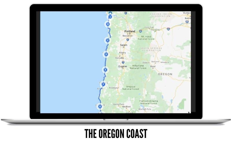 Winter Trips - The Oregon Coast Itinerary - TheMandagies.com