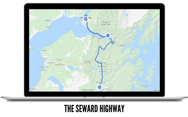 Winter Trip Ideas - The Seward Highway Road Trip Route - TheMandagies.com