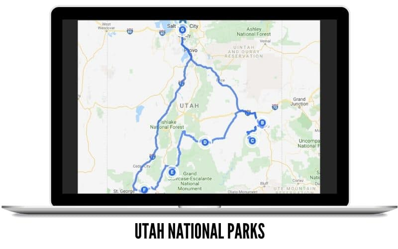 Road Trips To Take In The Winter - Utah National Park - TheMandagies.com