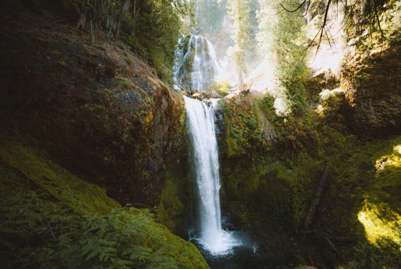 Falls Creek Falls Trail, Washington State