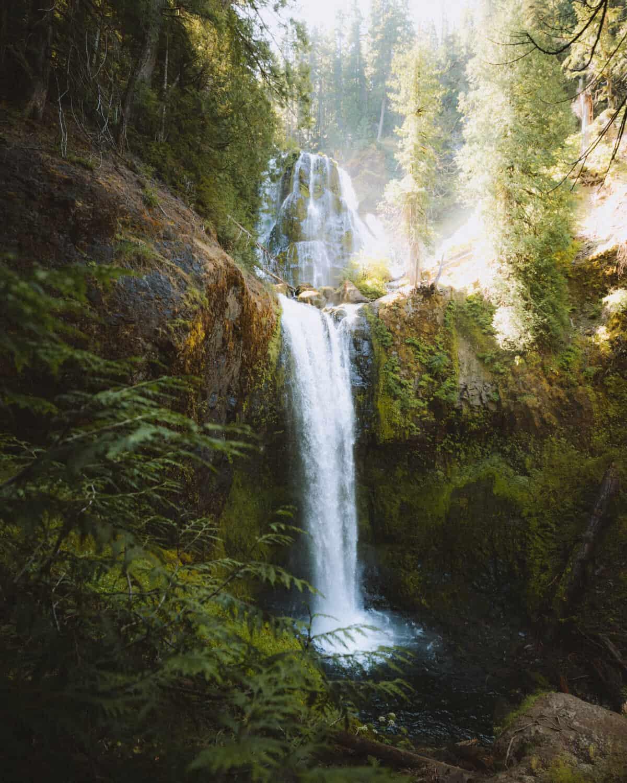 Falls Creek Falls in Washington State