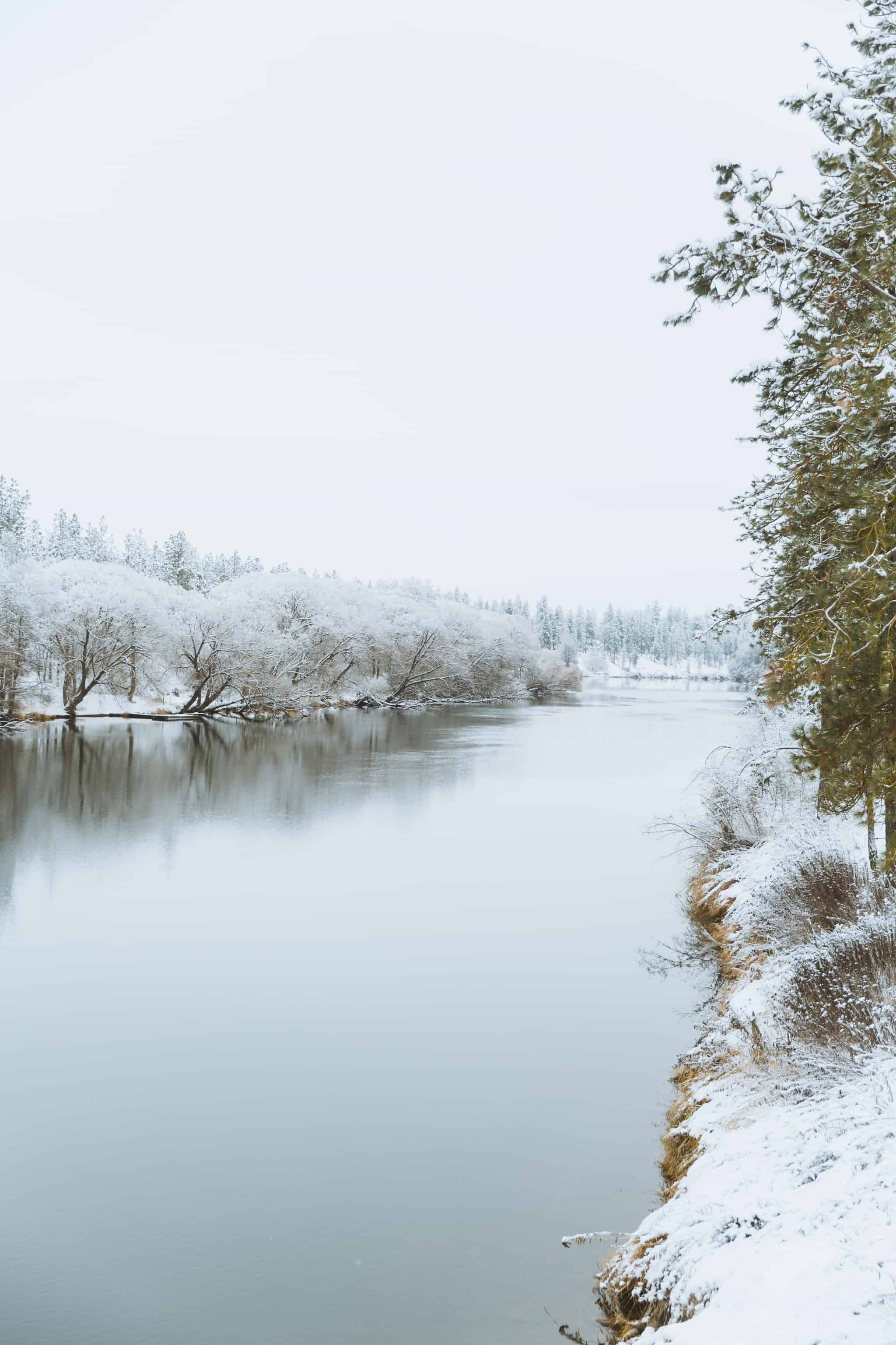 Washington Winter Hiking Trails - Riverside State Park, Spokane, Washington - TheMandagies.com