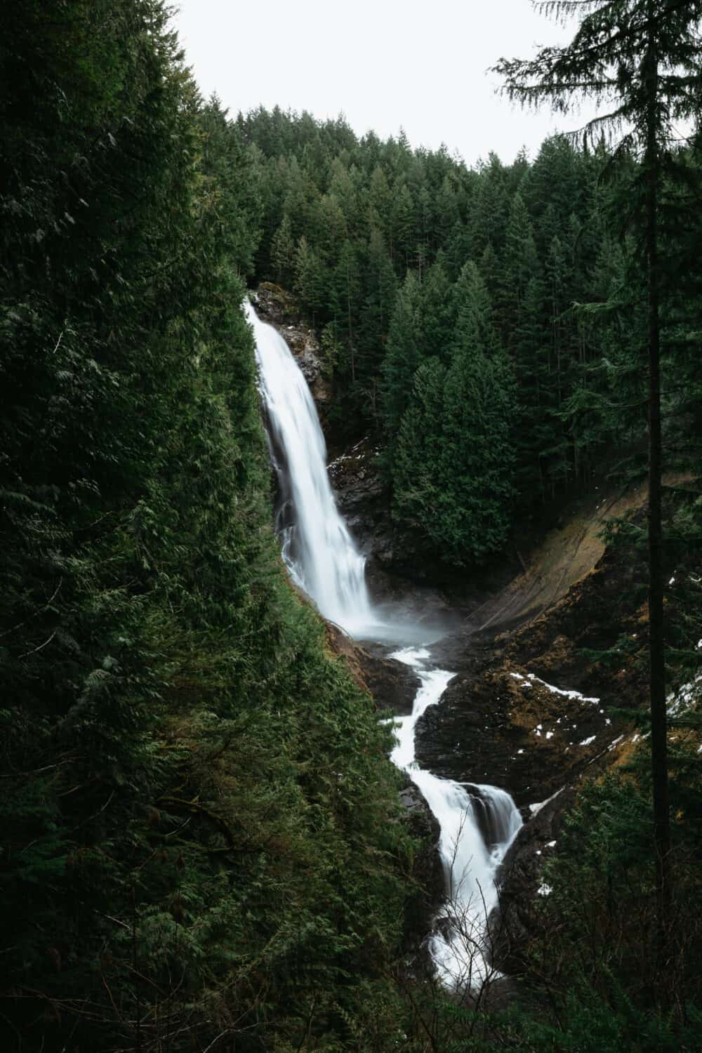 Wallace Falls Trail - Winter Hikes In Washington State - TheMandagies.com