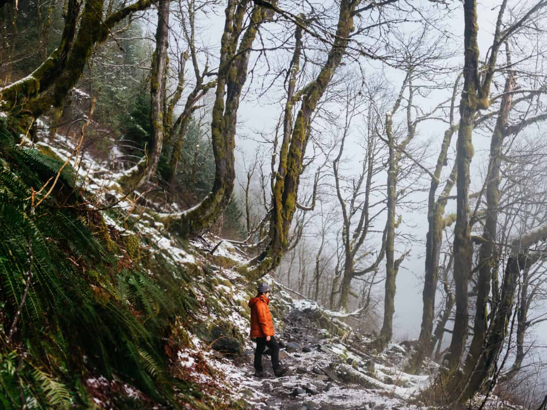 Lake Twentytwo Trail in Winter - Winter Hiking Trails Near Seattle, Washington - TheMandagies.com
