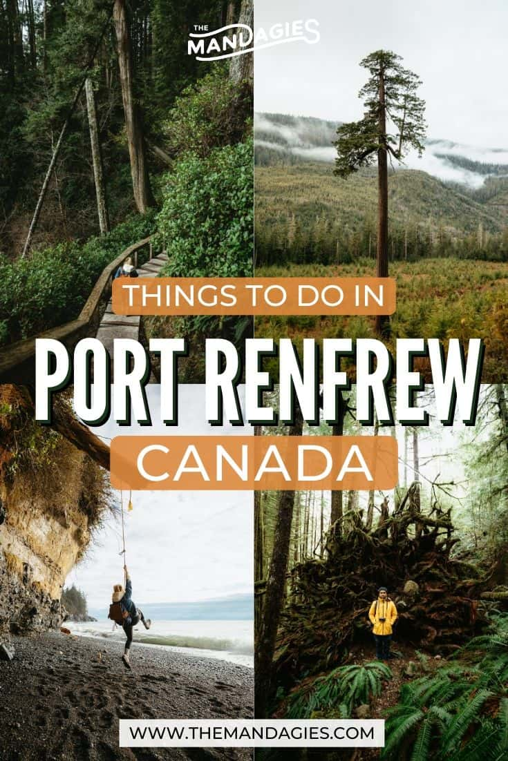 Heading to Vancouver Island, British Columbia? Here are some amazing things to do in Port Renfrew, and why it should be on your Canada bucket list! #canada #vancouverisland #juandefuca #britishcolumbia #lake #sunrise #travel #westernUSA #photography #landscape #mountains #rainforest