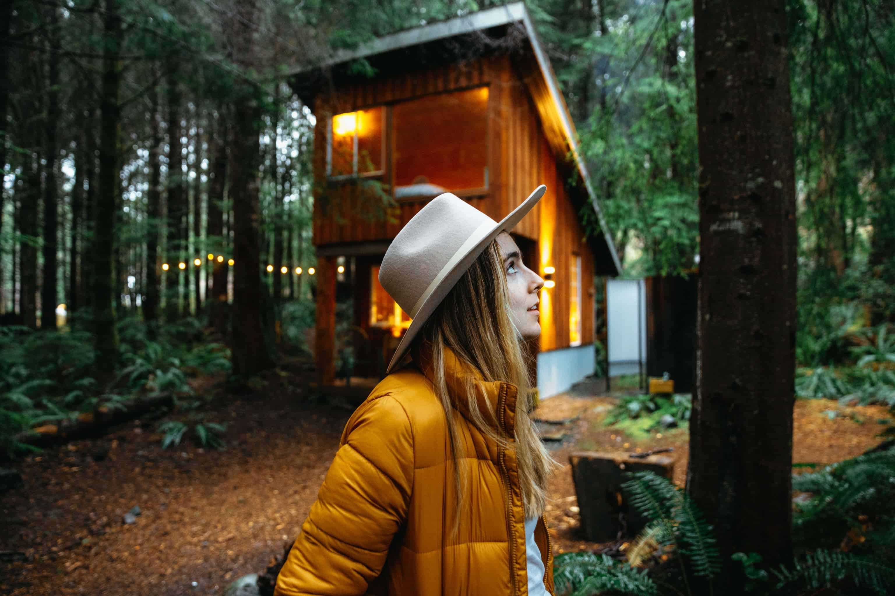 Stay at Fern Gully Cabins On Vancouver Island