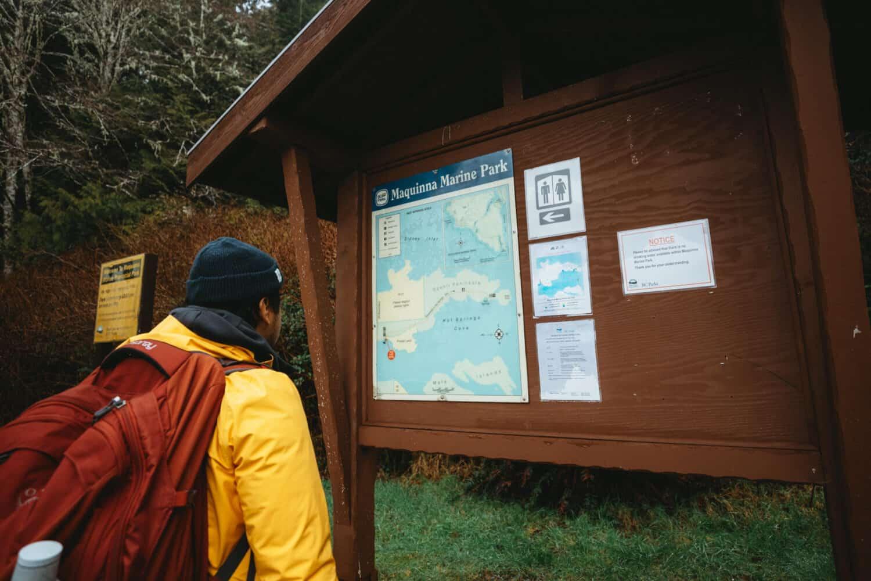 Maquinna Provincial Park Trailhead - Tofino, BC - TheMandagies.com