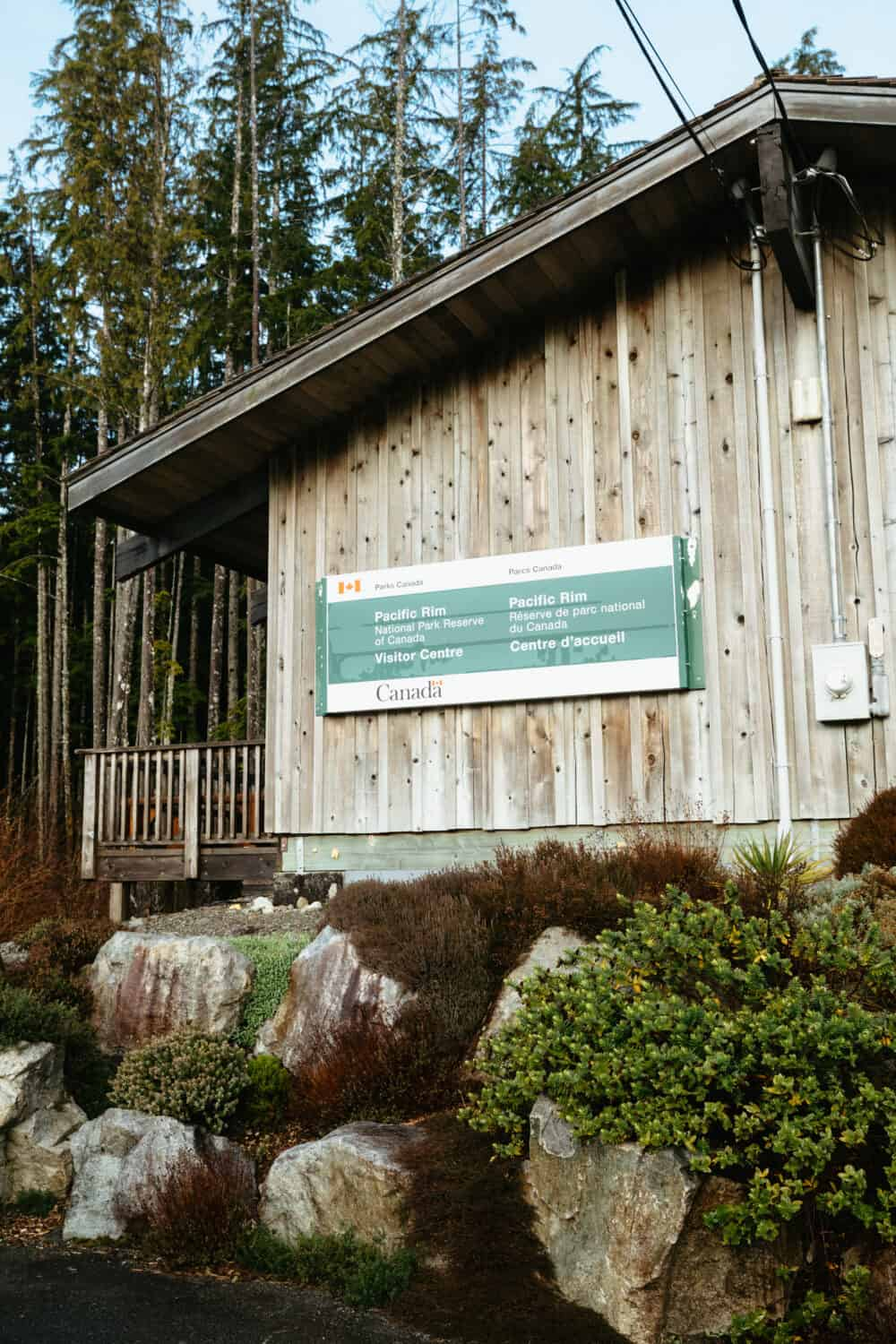 Pacific Rim National Park Information Center Building - TheMandagies.com