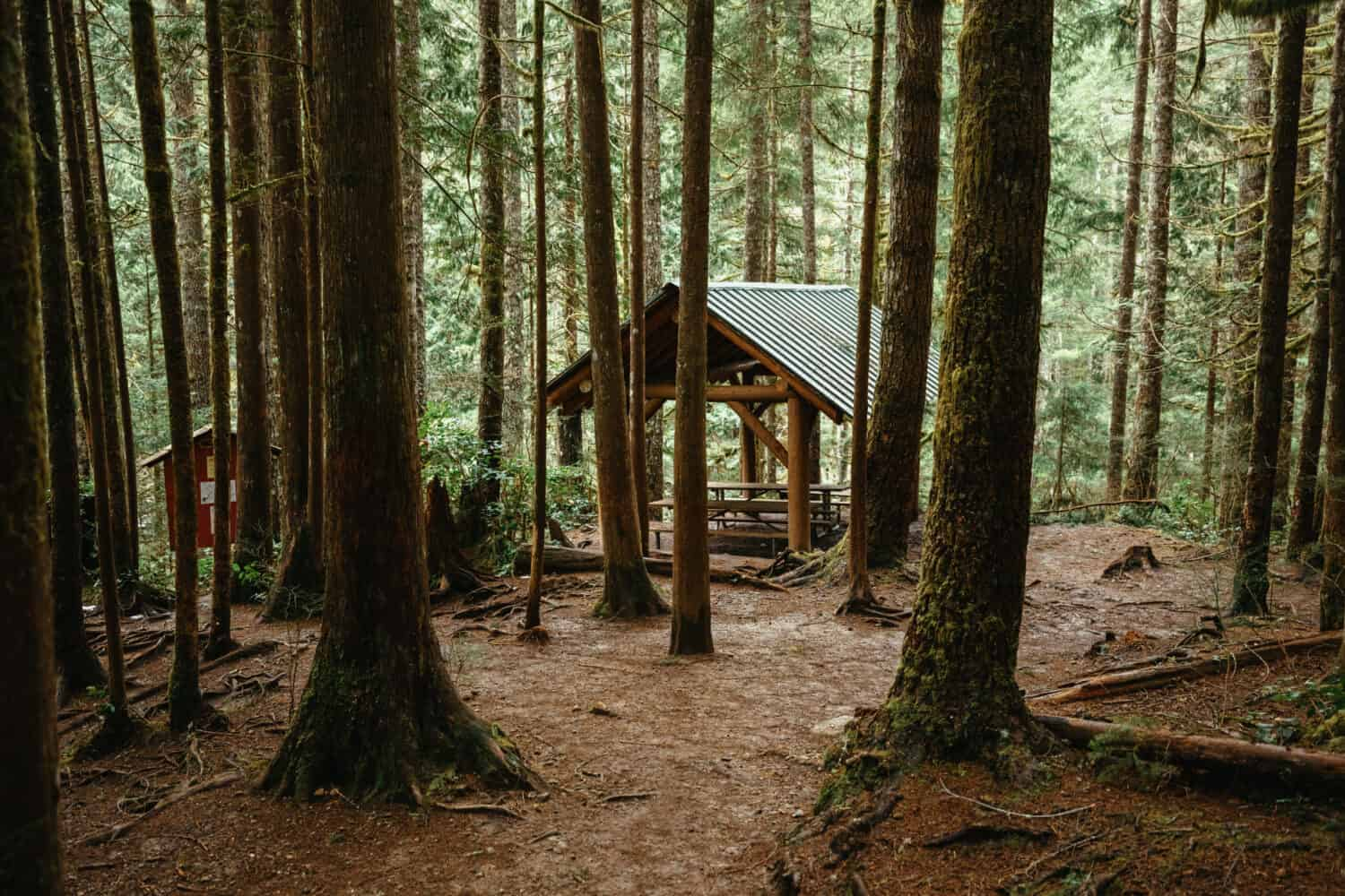 Picnic Area Near Wallace Falls - Hiking Trails In Seattle, Washington - TheMandagies.com