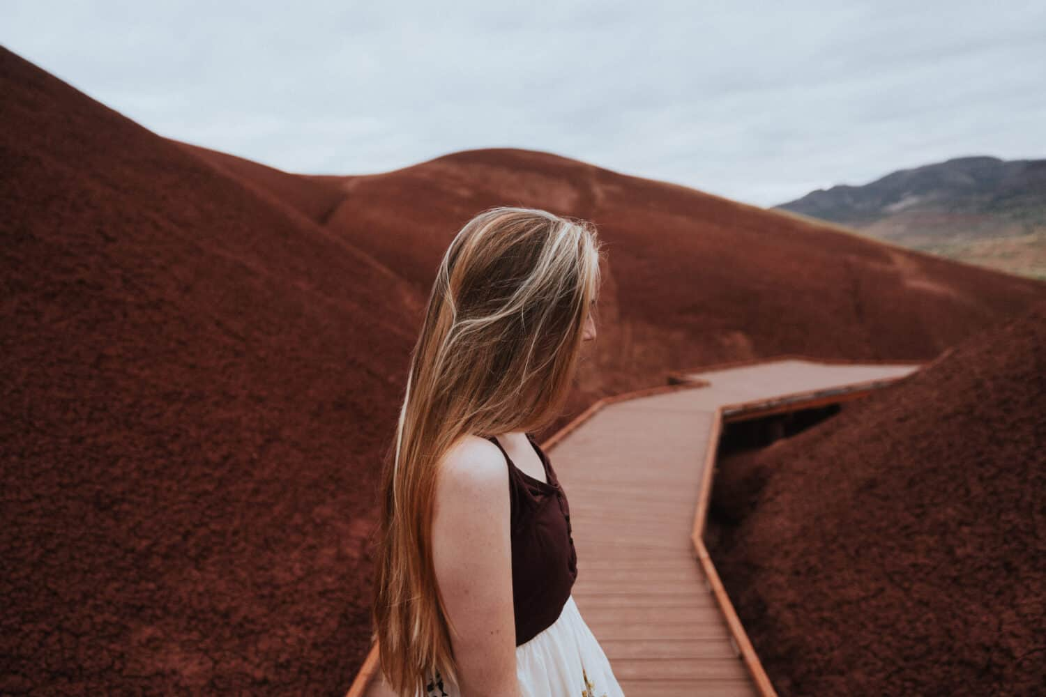 Painted Hills - Scenic Places In Oregon