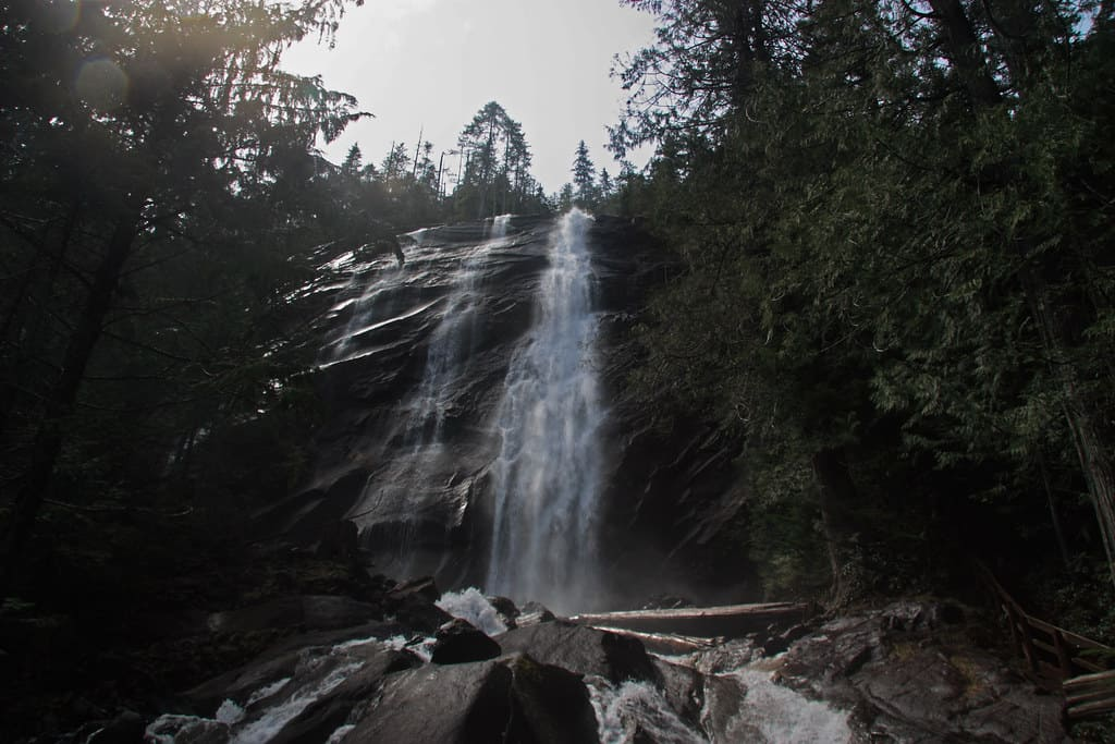 Bridal Veil Falls Hikes in Washington State