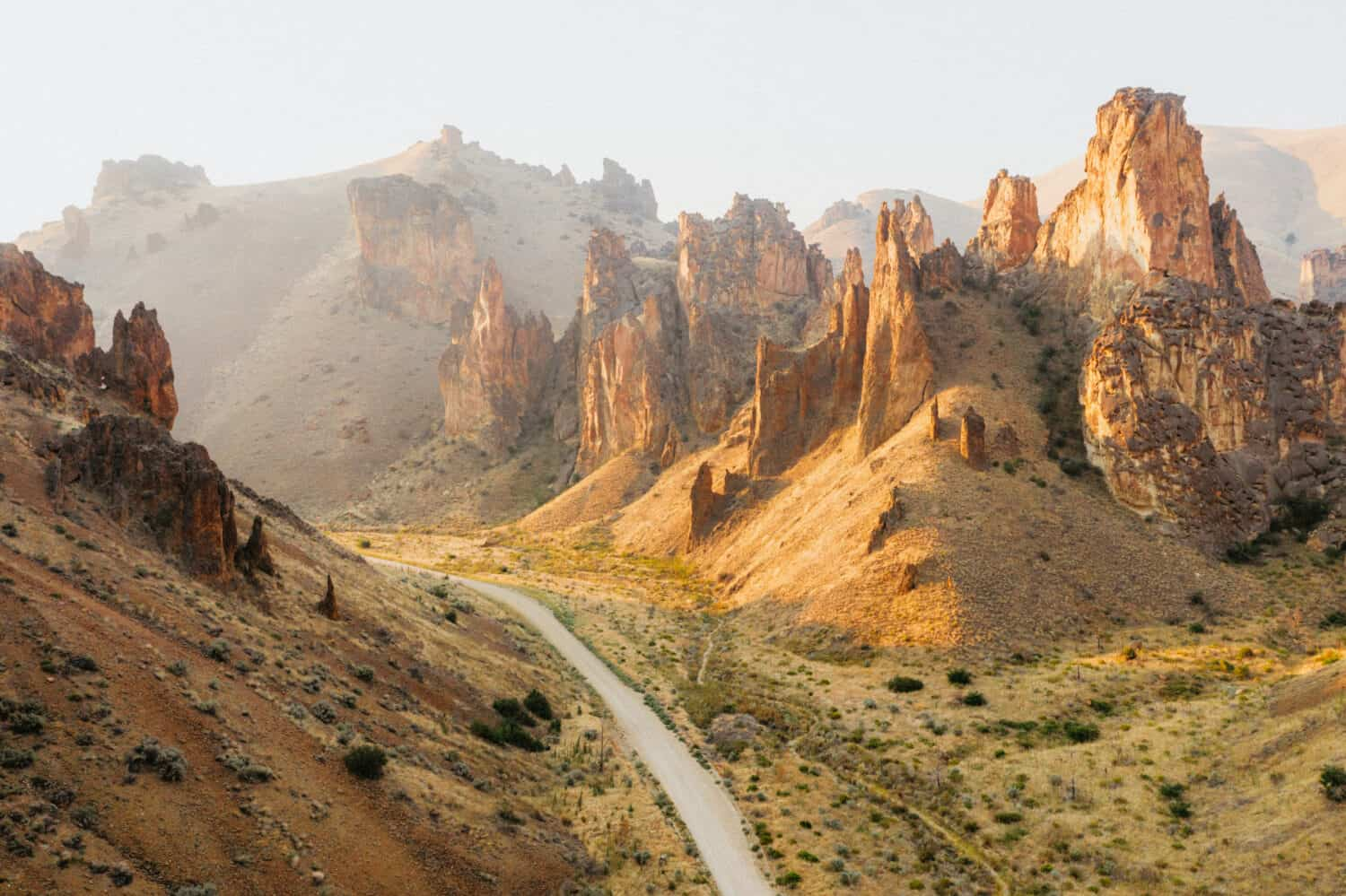 Eastern Oregon Road Trip Route - Leslie Gulch Stop
