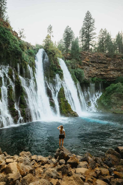 Northern California Waterfalls - McArthur-Burney Falls