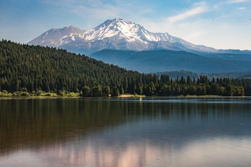 Shasta Lake in Northern California