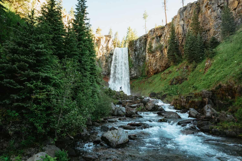 Best Oregon Waterfalls - Tumalo Falls