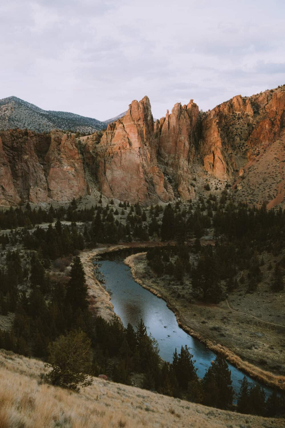 Eastern Oregon Road Trip Route - Smith Rock State Park