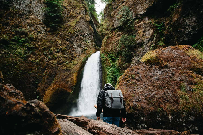 Waterfalls Near Portland Oregon - Wahclella Falls