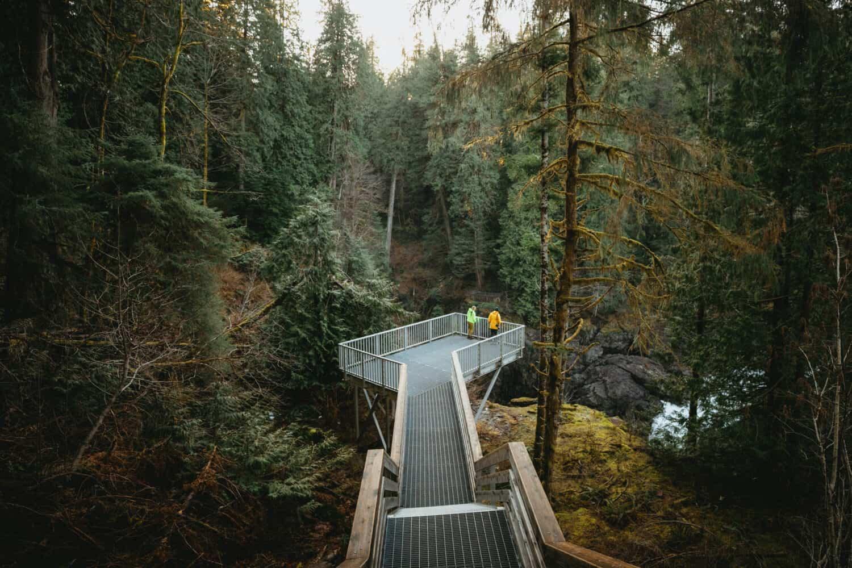 Campbell River, BC - Elk Falls Provincial Park - TheMandagies.com
