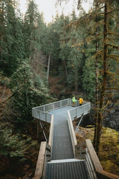 Campbell River Itinerary - Elk Falls Provincial Park - TheMandagies.com