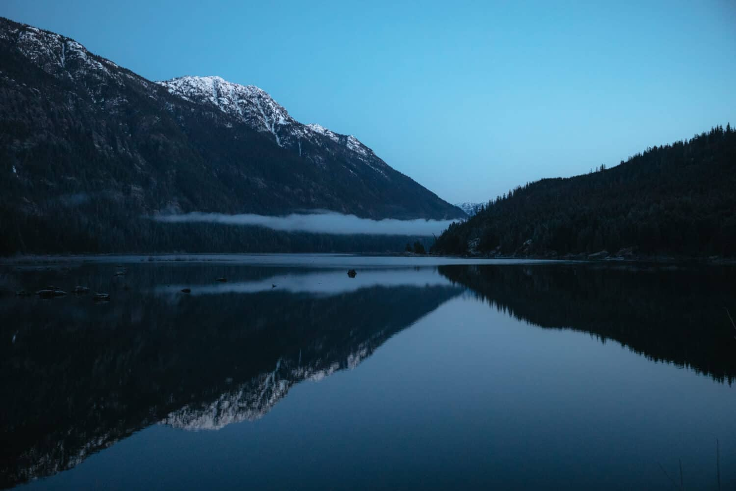 Blue Hour at Strathcona Provincial Park - Campbell River, BC - TheMandagies.com