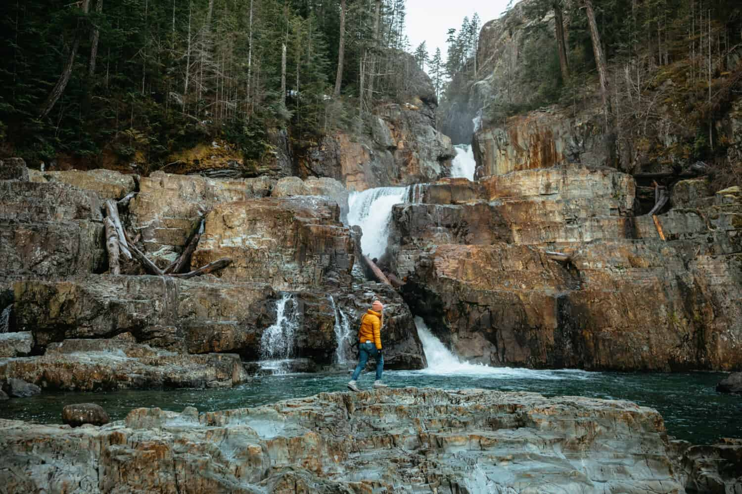 Myra Falls in Campbell River, Vancouver Island