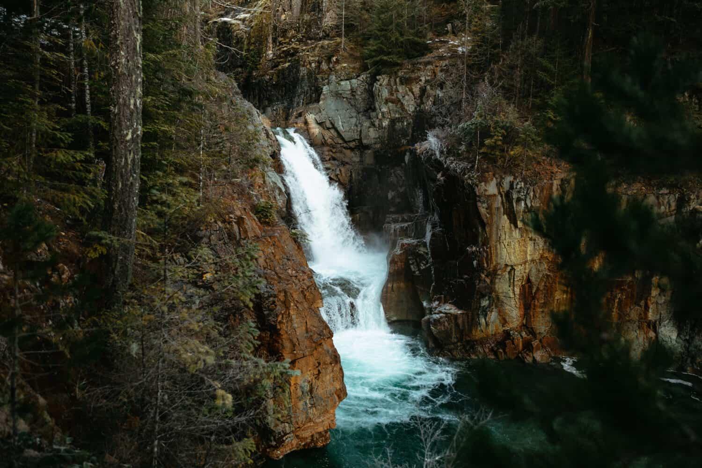 Upper Myra Falls - Strathcona Provincial Park - TheMandagies.com