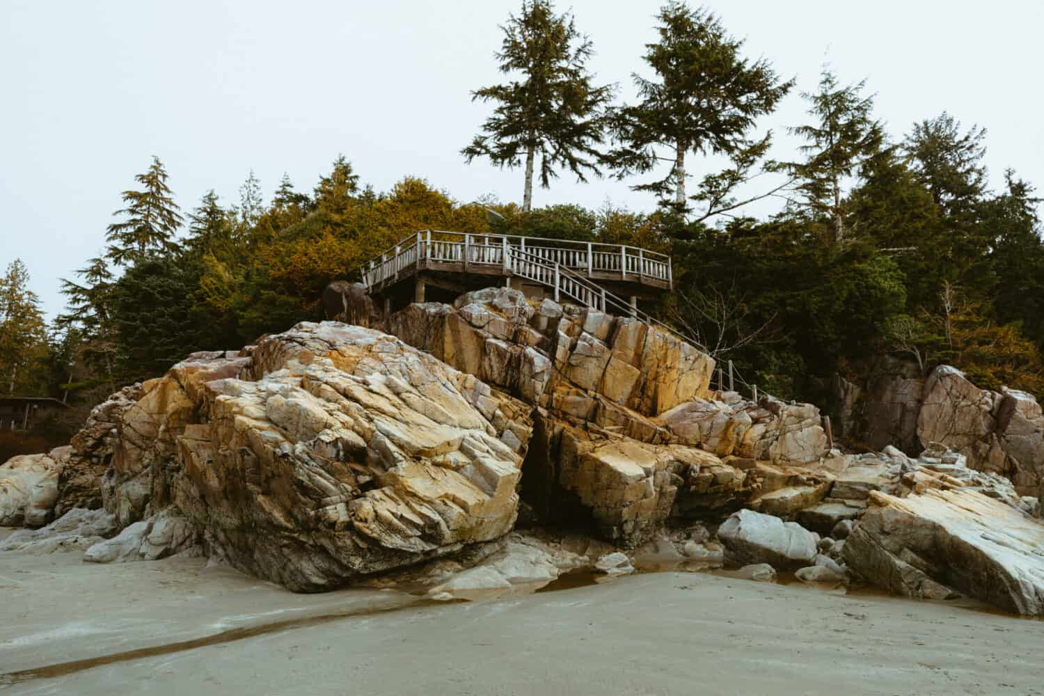 Beaches in Tofino, British Columbia