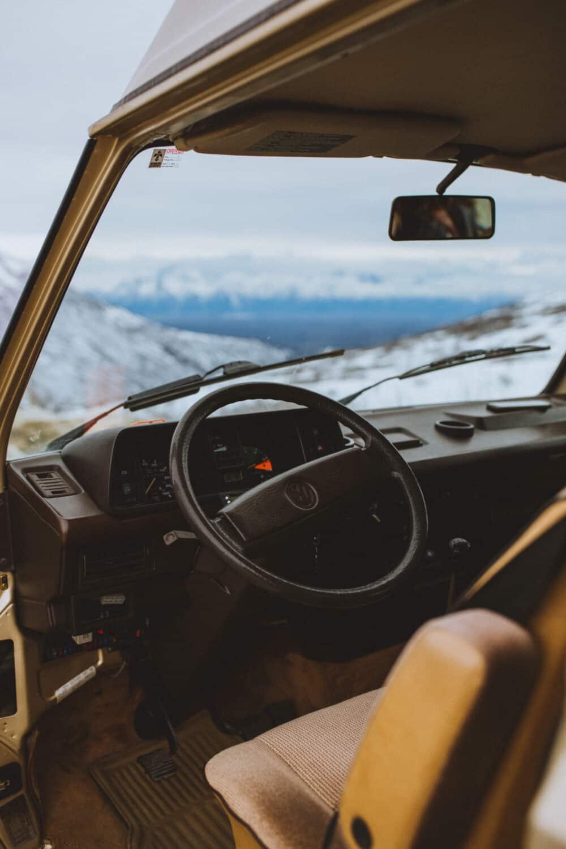 Getting Around Washington - VW Vintage Westfalia