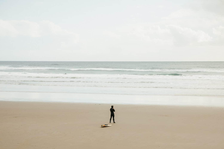 Surfing In Westport, Washington - TheMandagies.com