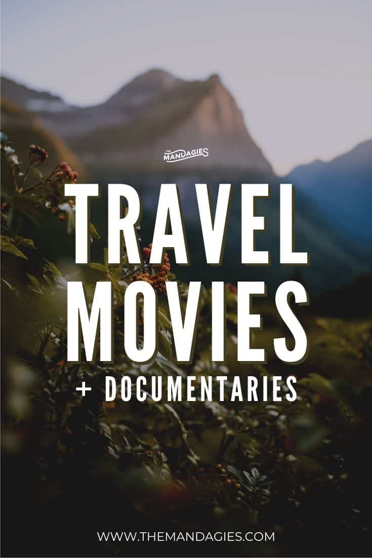 Looking for your travel fix while staying at home? Stream these popular and exciting travel documentaries and travel movies to watch at home! #travel #documentary #travelmovies #streaming #armchairtraveler