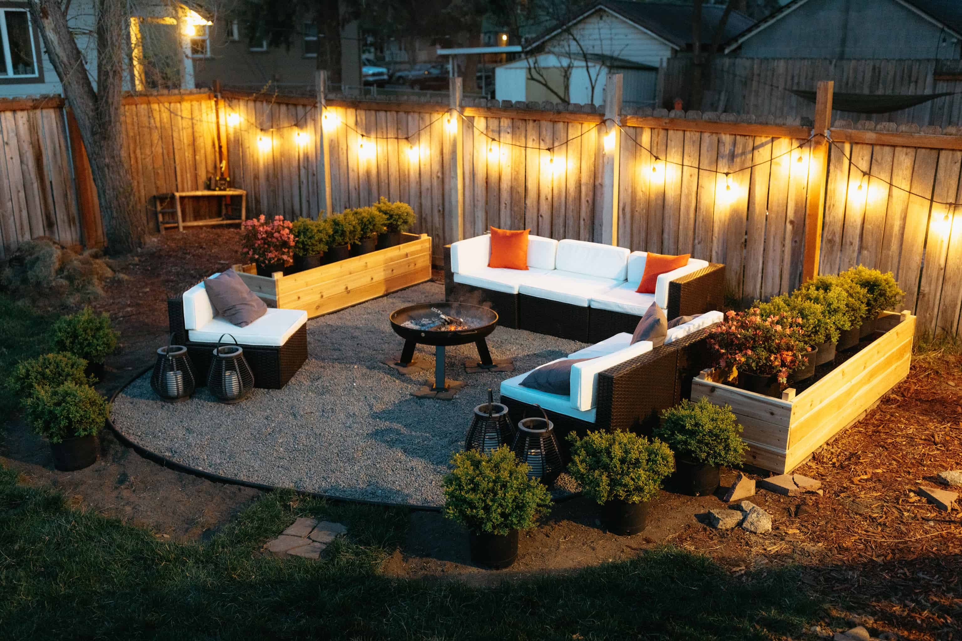 How We Built a Low-Budget Backyard Fire Pit (Step-By-Step Guide + Price Breakdown!)