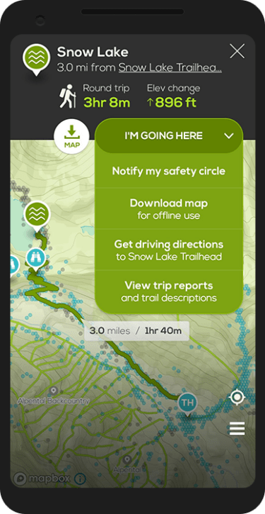 Best Hike Tracking App - Cairn