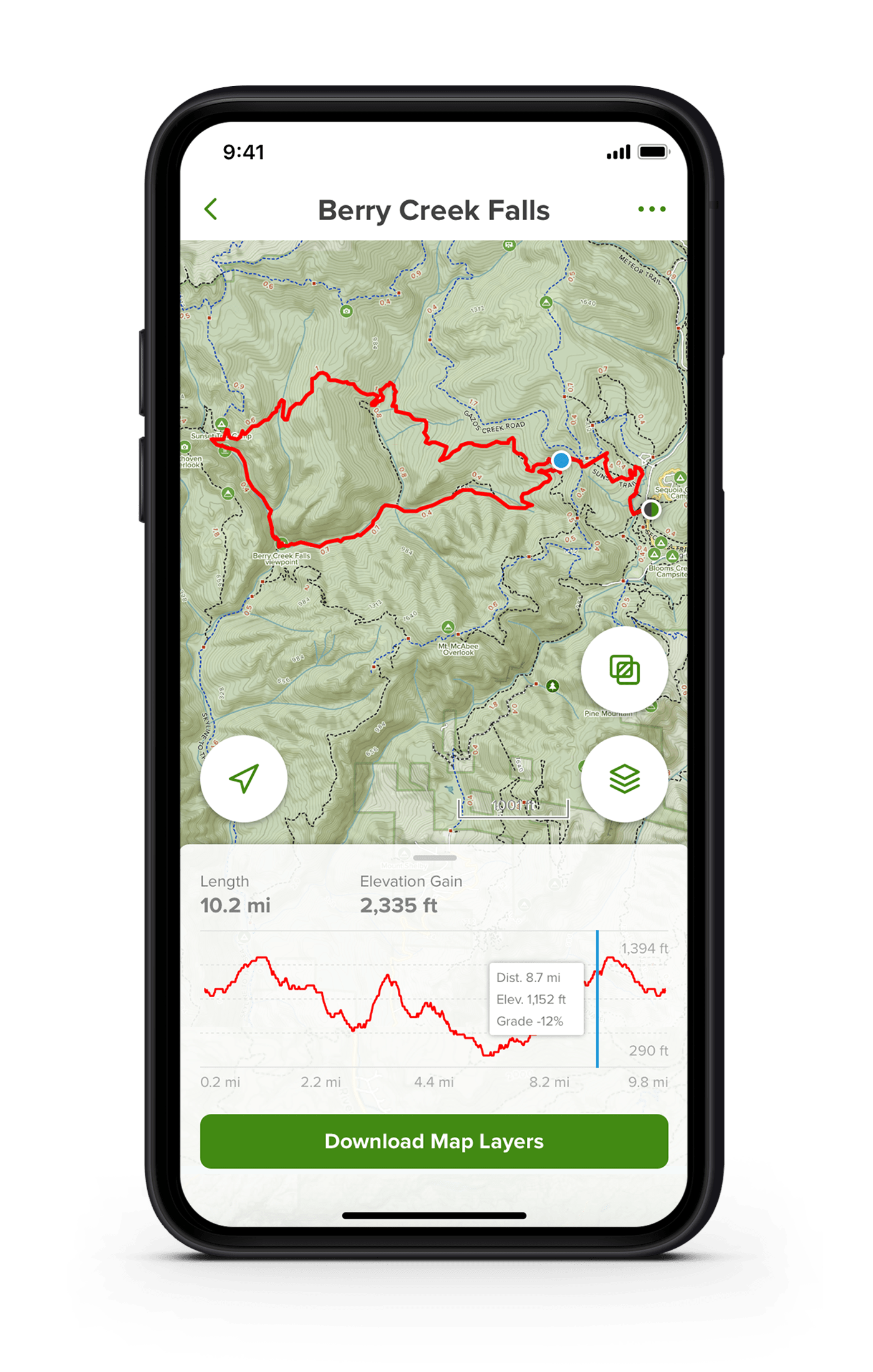 Best Hiking Apps - AllTrails