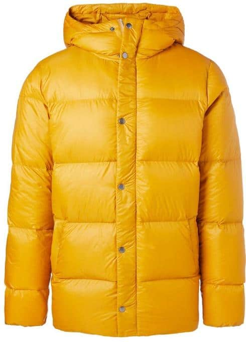 Cotopoaxi Yellow Down Jacket
