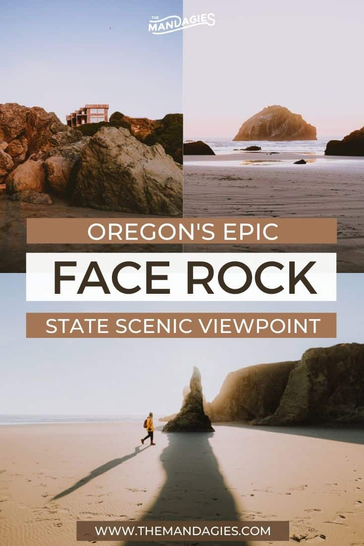 Face Rock State Scenic Viewpoint In Bandon, OR is home to some of the most iconic sea stacks in the state! We're taking you on a tour of them all right here, including our favorite stops on an Oregon coast road trip, photography tips, and more! #oregon #weekendgetaway #oregoncoast #bandonbeach #summer #sunset #photography #westcoast #PNW #pacificnorthwest #pacificocean #oregon #bandonoregon