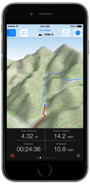 Best GPS Apps For Hiking - Maps 3D Pro