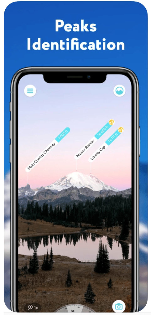 Apps For Hiking Trails - Peak Visor