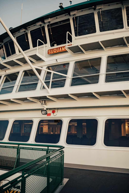 Suquamish Ferry From Mulkilteo to Widbey Island, Washington