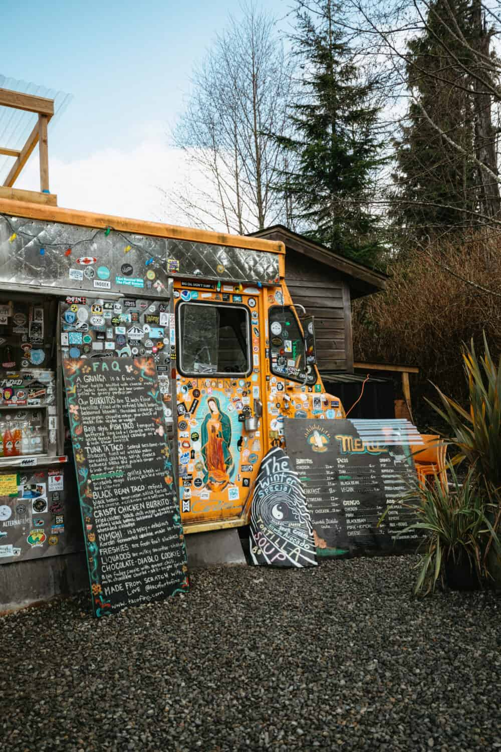 Tacofino Food Truck in Tofino, BC