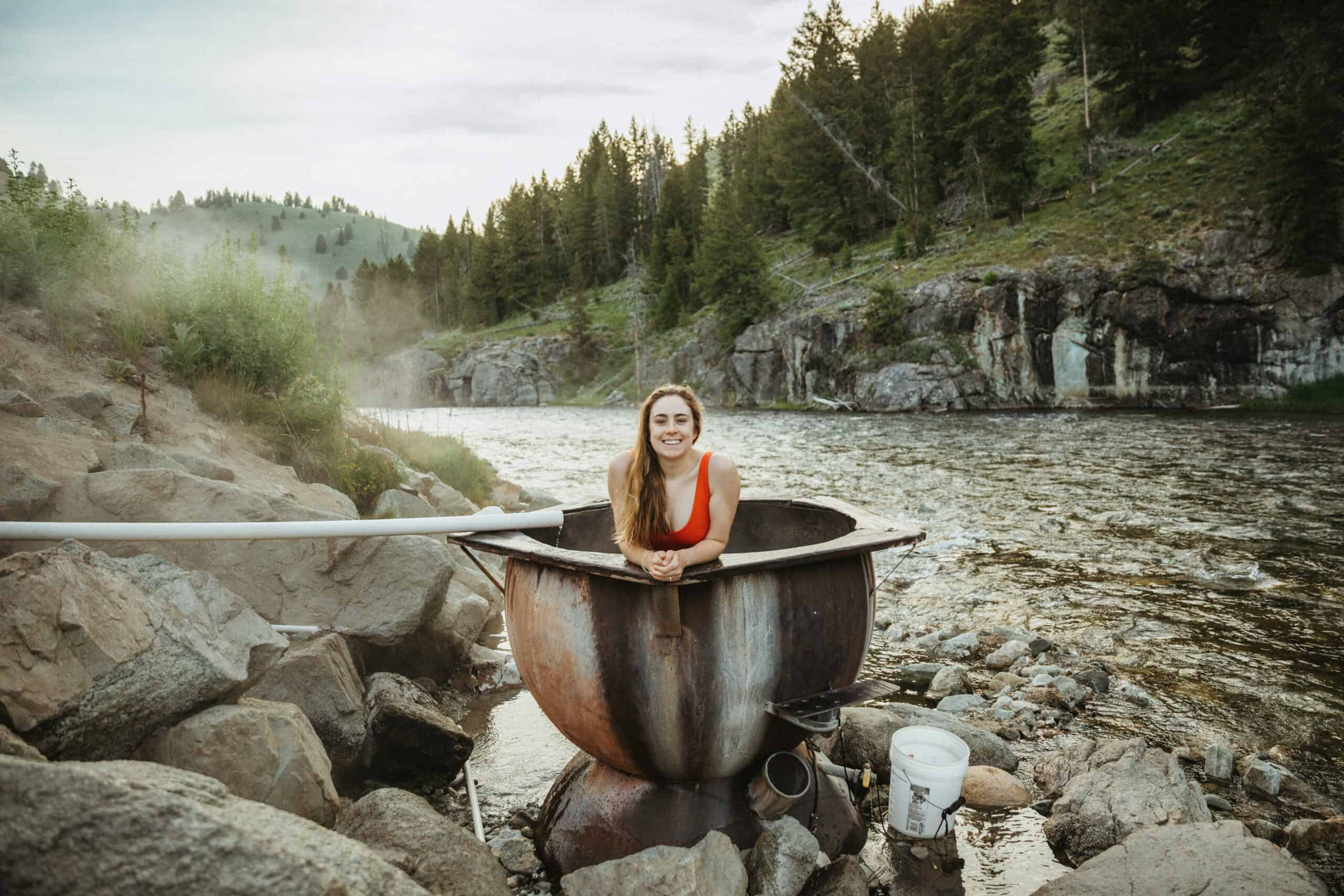 Boat Box Hot Springs (Exactly How To Get There + Tips For A Solo Soak!)