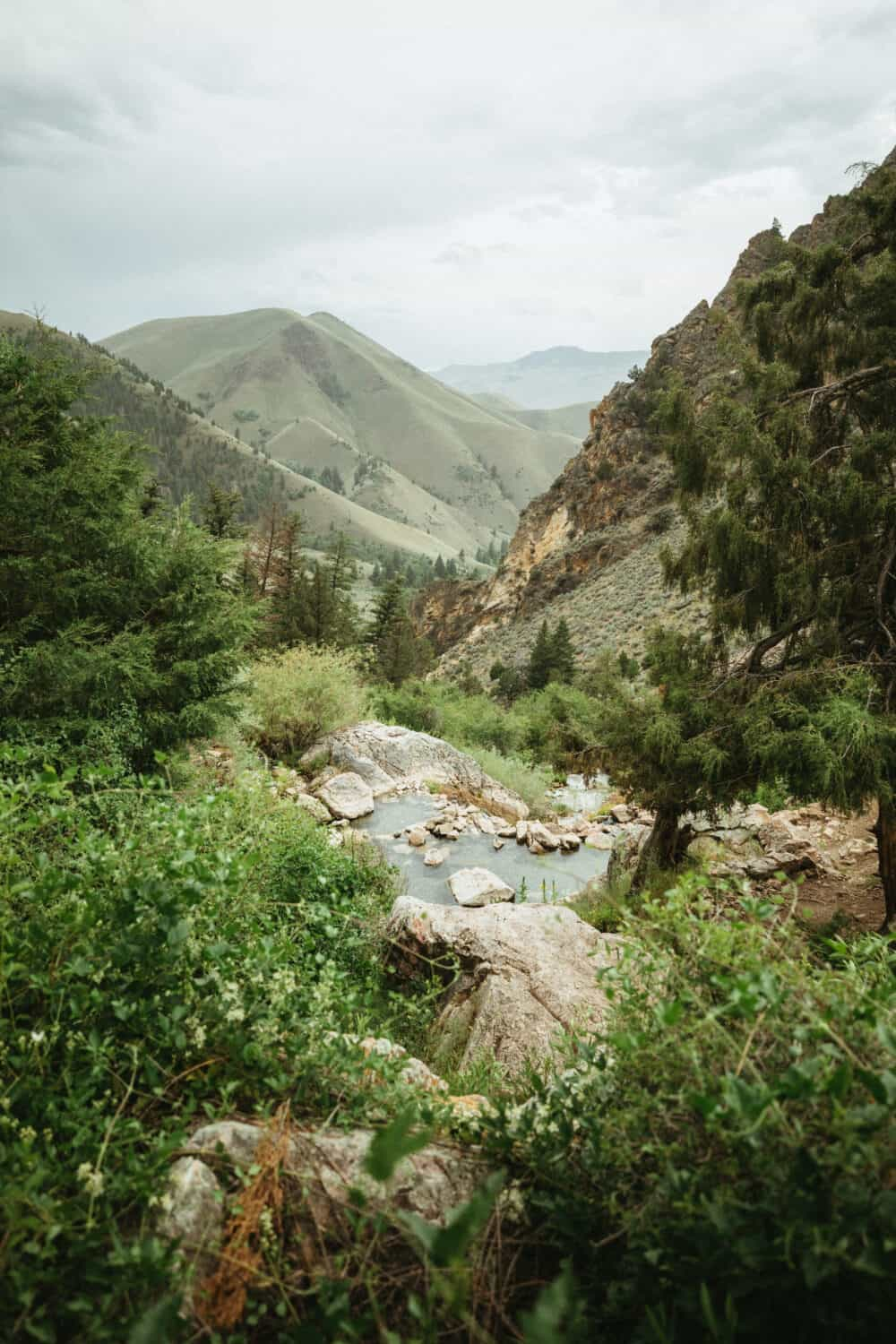 Hot Springs Etiquette - Goldbug Hot Springs in Idaho