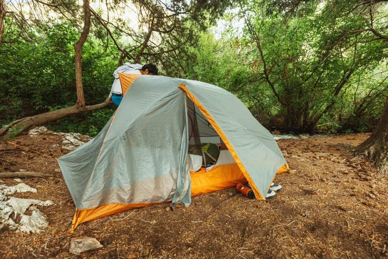 Camping Near Goldbug Hot Springs, Idaho