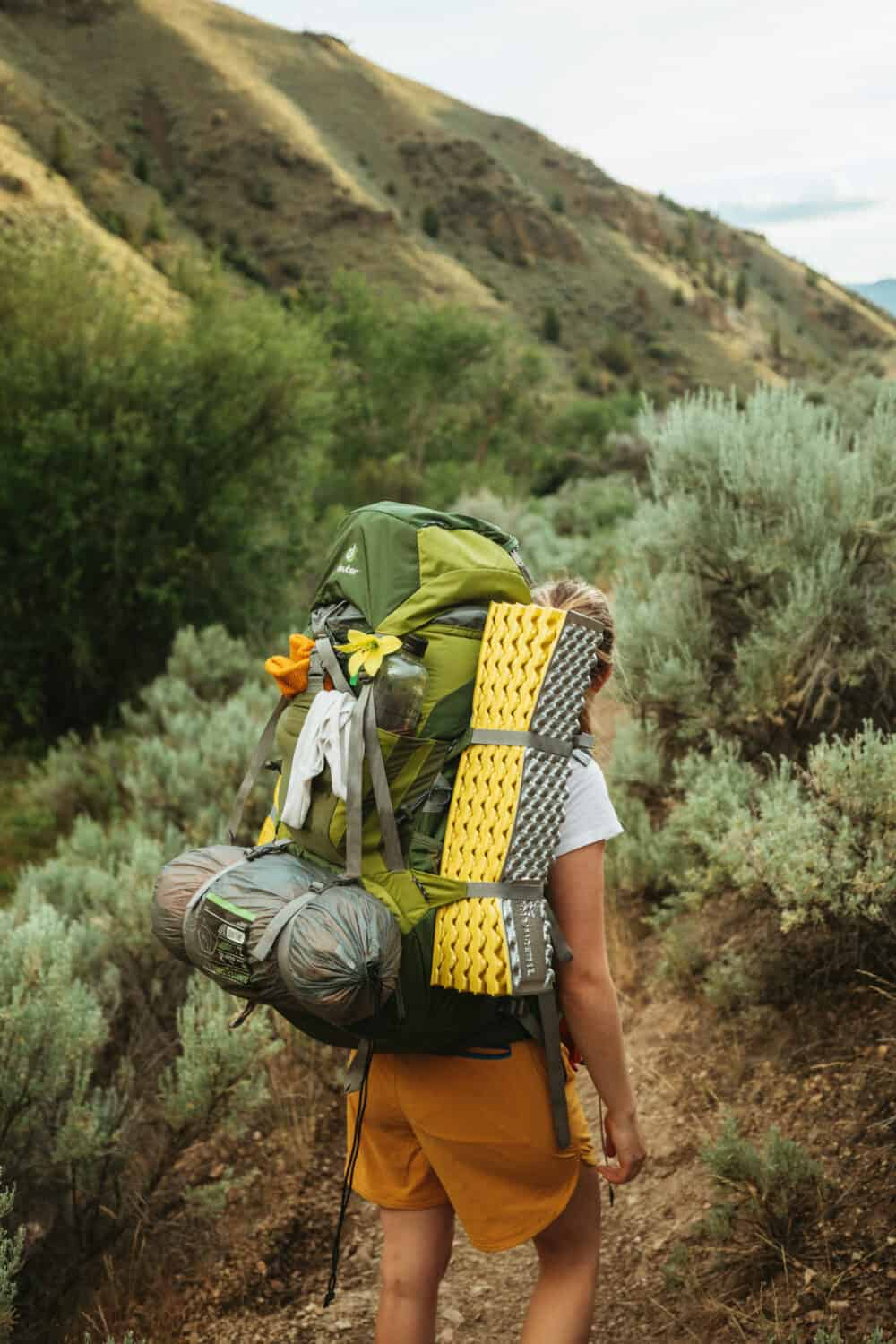 Packing for a trip to the hot springs in Idaho