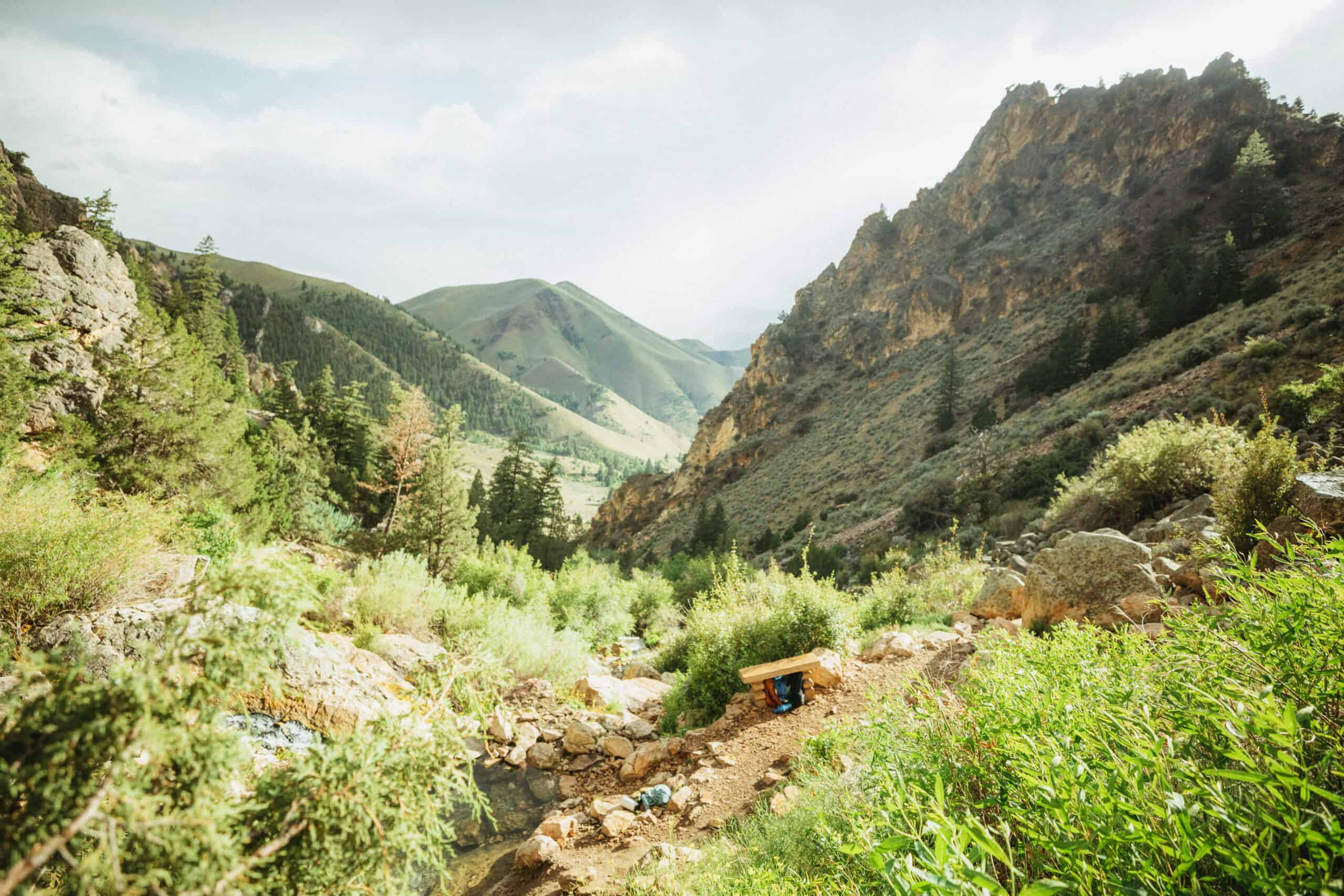 Goldbug Hot Springs (Exactly How To Hike, Soak, & Camp At This Magical Backcountry Springs in Idaho!)