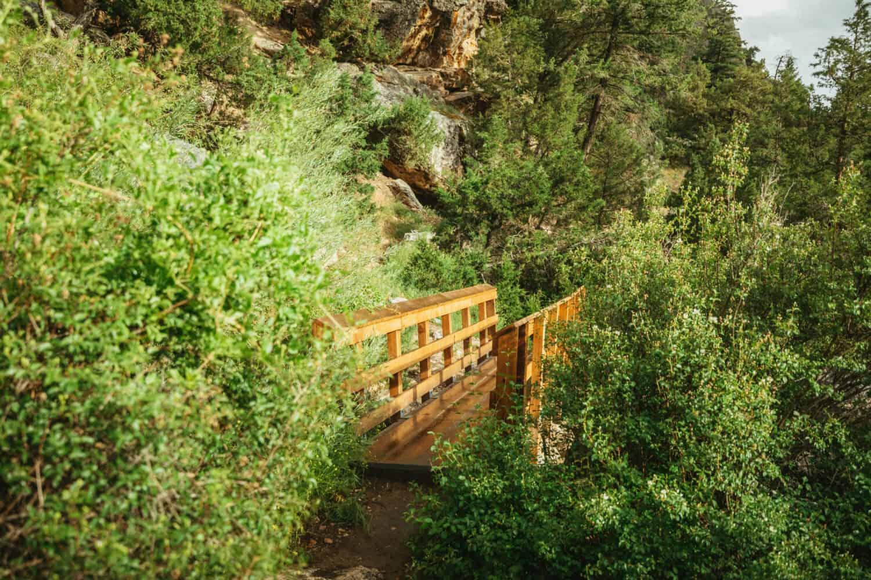 Final bridge at the top