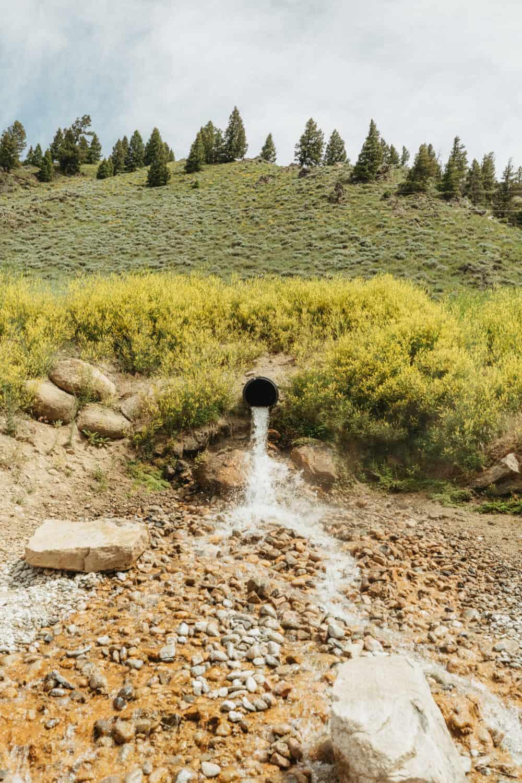 Sunbeam Hot Springs geothermal source