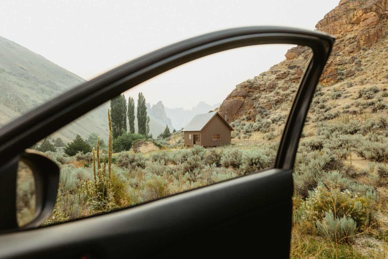 Wilderness Study Cabin - Eastern Oregon