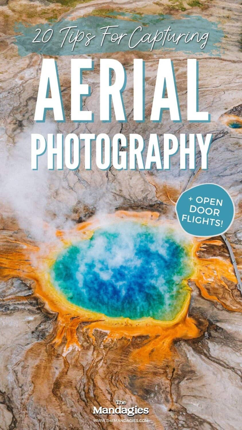 Getting ready for your first helicopter photography tour? We're sharing the best aerial photography tips and tricks, and gear recommendations from B&H Photo, and camera settings for the best aerial photos! #aerialphotography #photography #photos #helicopterride #mountains #cityscapes #newyork #travel #adventure #plane #nature #photography