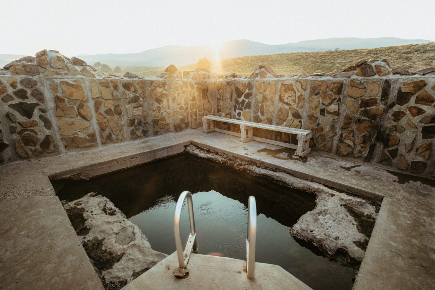 Hart Mountain Hot Spring Developed Pool
